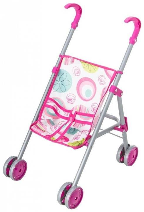 3w1 Zestaw Wózek Dla Lalek + Krzesełko + Lalka 30cm