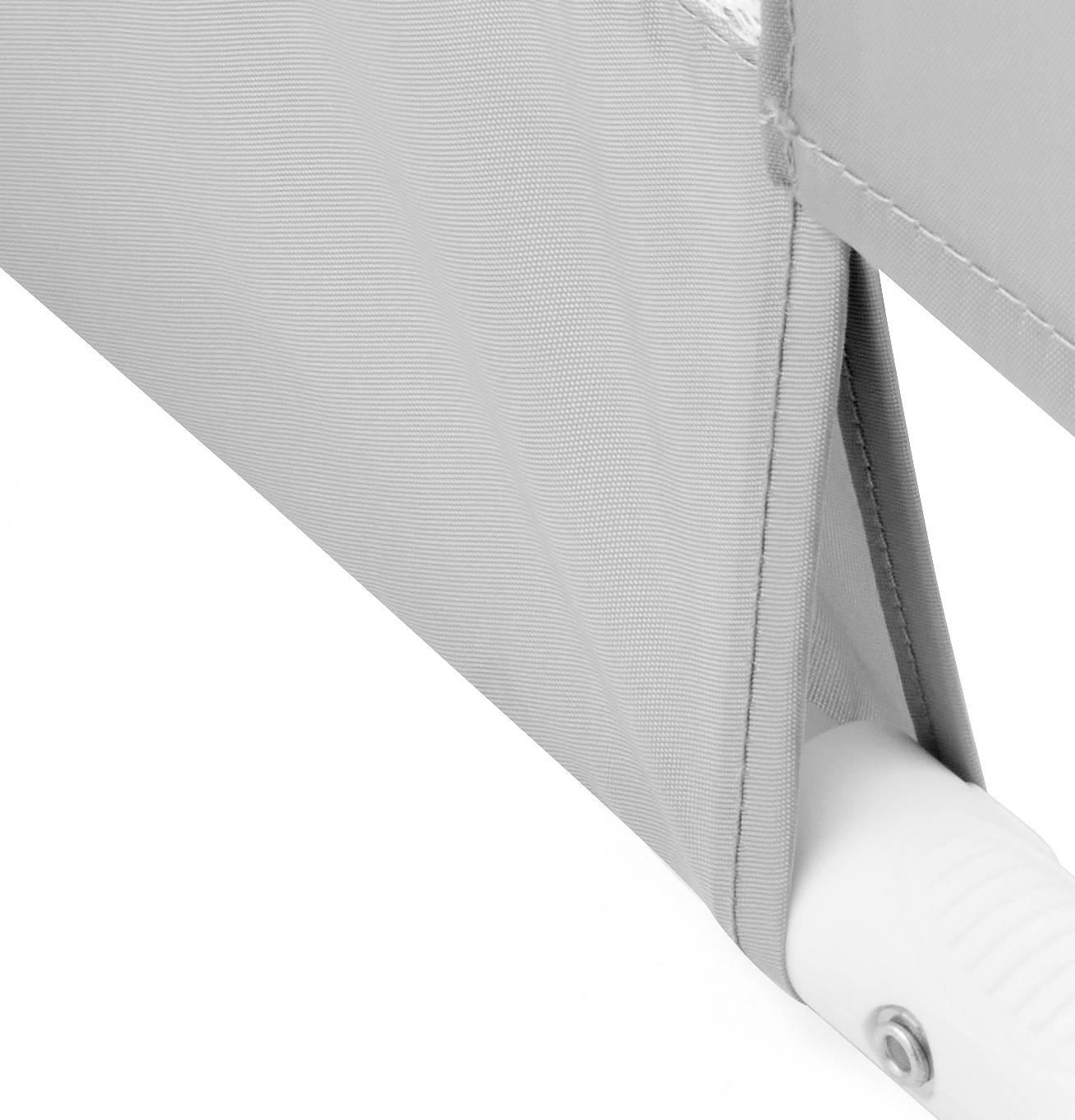 Barierka Ochronna do Łóżka - Bed Rail - kolor szary