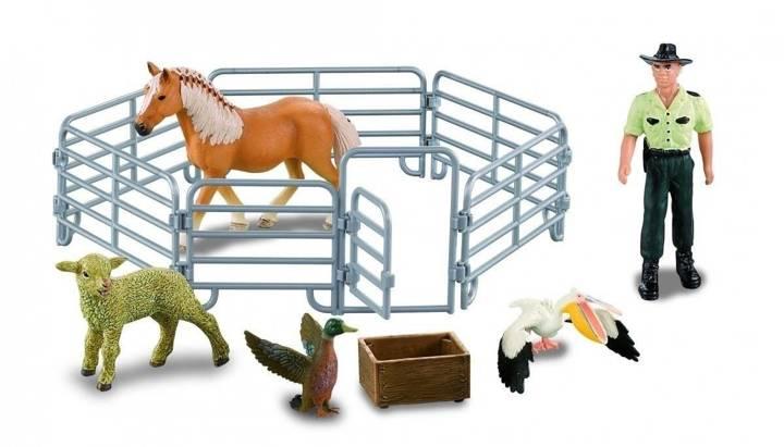 Farmee-zestaw Z05 - Farmer ze zwierzetami