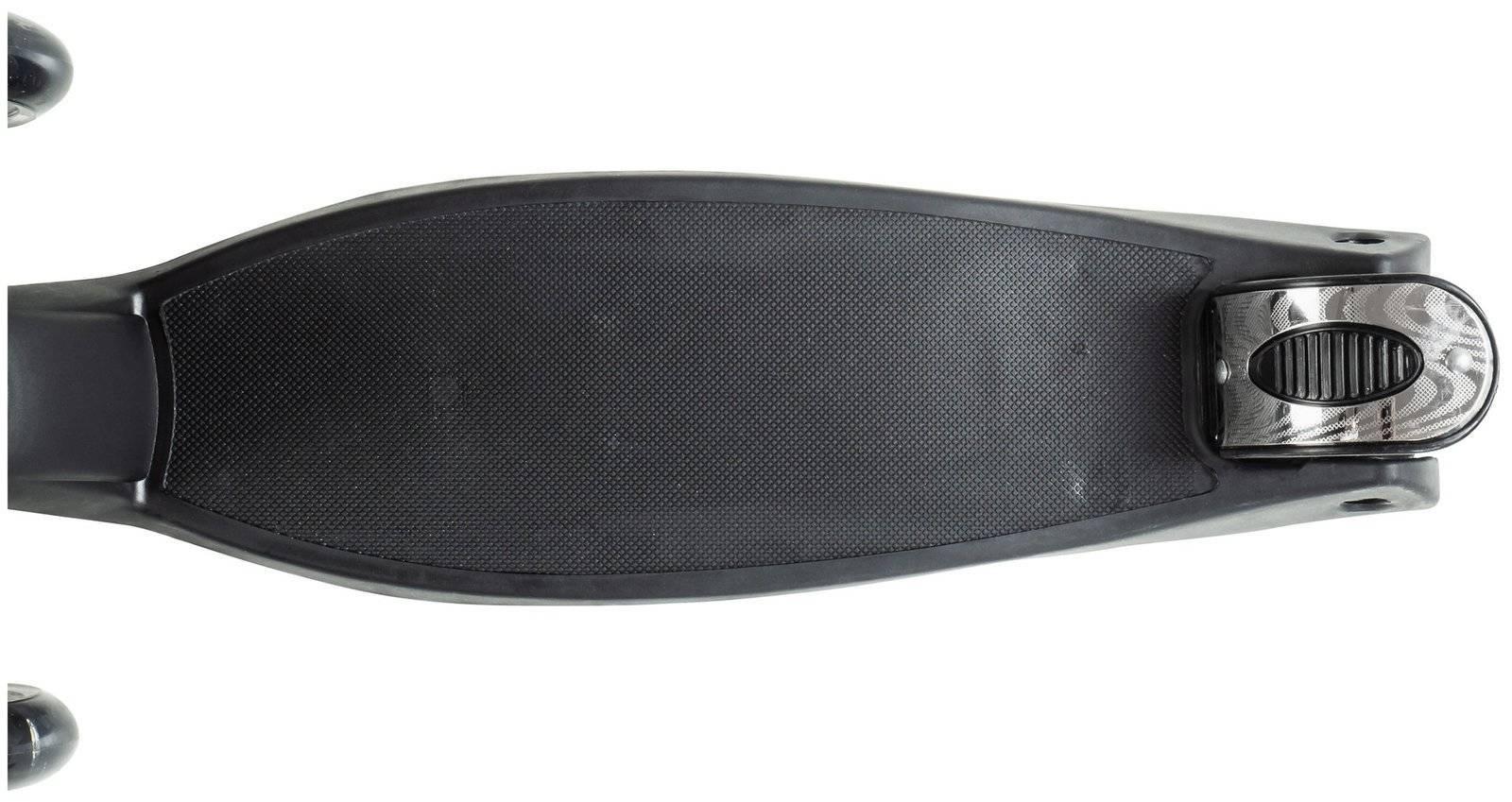 Hulajnoga trójkołowa balansowa ALAMO - Czarna BZW + koła LED