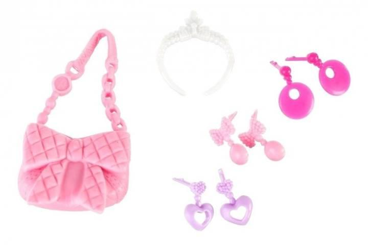 Lalka Anlily - Słodka Księżniczka - suknia różowa