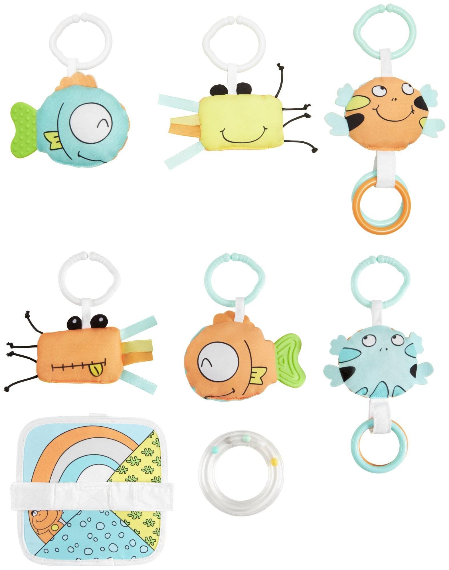 Mata interaktywna do zabawy 4w1 - Żółw z piłeczkami - Moby-System TURTLE