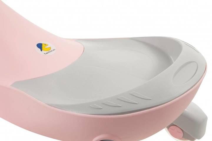Pojazd dziecięcy TwistCar - Pastelovy róż Świecące kółka!